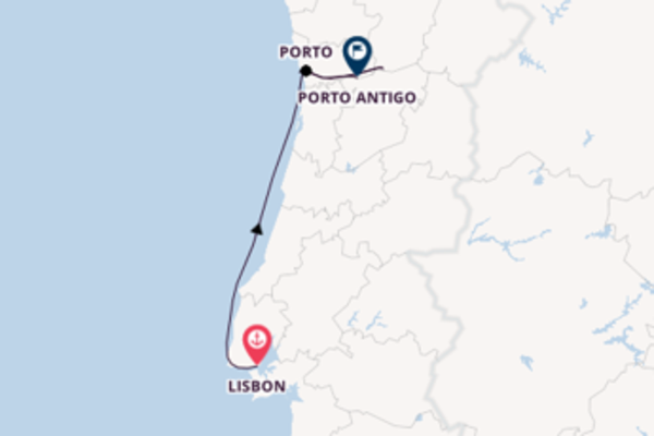 Cruise from Lisbon with the MS Miguel Torga