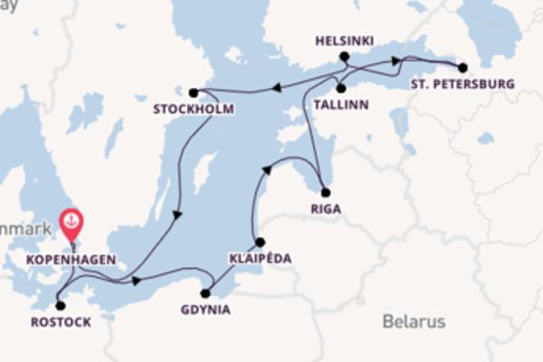 Maak een droomcruise naar Gdynia