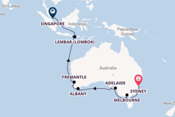 Cruise met Silversea naar het sprankelende Singapore