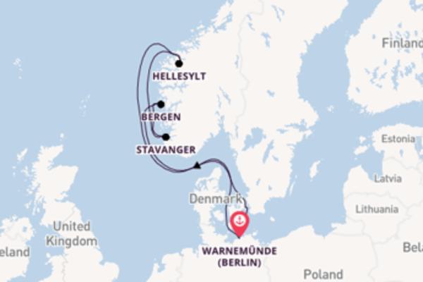 Voyage with MSC Cruises from Warnemünde (Berlin)