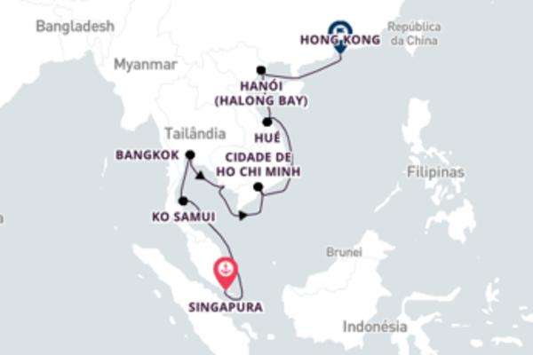 Fabulosa viagem de 15 dias com a Oceania Cruises