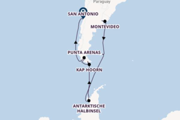 17-tägige Kreuzfahrt ab Buenos Aires