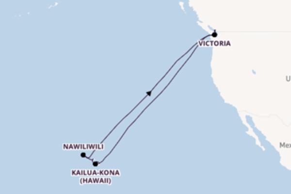 Seducente crociera di 19 giorni verso Honolulu a bordo di Koningsdam