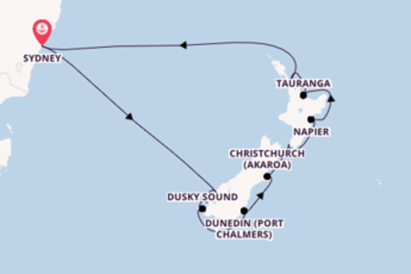 Cruising from Sydney with the Celebrity Eclipse