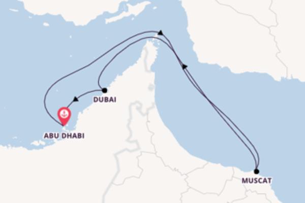7 Tage Emirate und Orient Reise