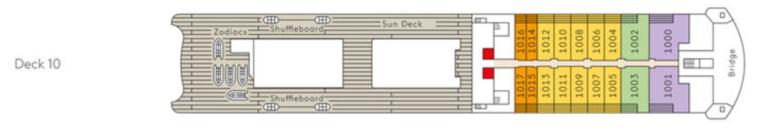 MS Europa 2 Deck 10