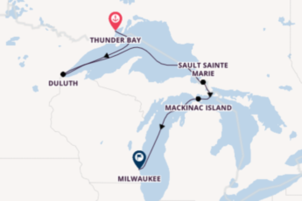 8 day expedition from Thunder Bay