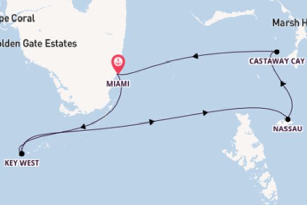 6 Tage Bahamas – ab/bis Miami