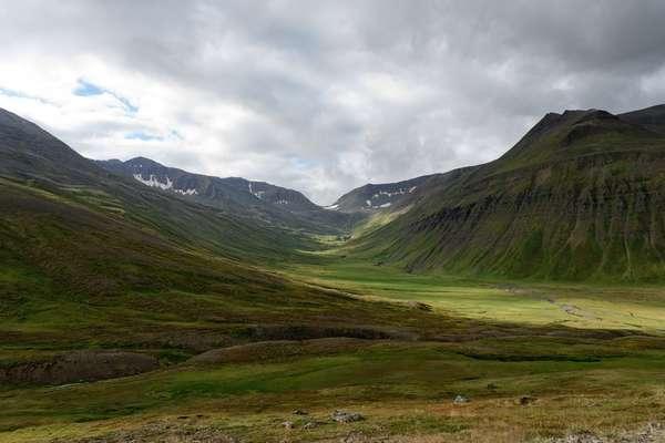 Langanes, IJsland