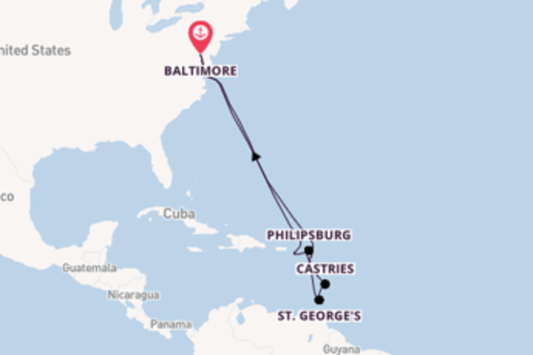 Cruise with Royal Caribbean from Baltimore