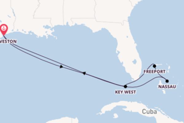Affascinante crociera di 8 giorni verso Freeport a bordo di Carnival Dream