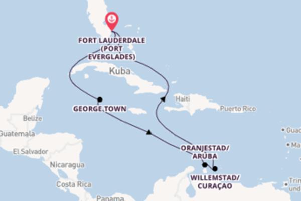 Traumhafte Reise über George Town in 9 Tagen