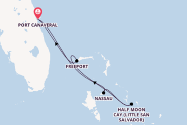 Expedition with the Carnival Elation from Port Canaveral