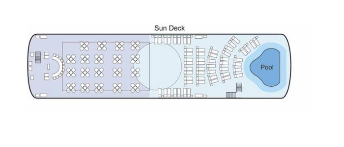 MS Antares Sun Deck