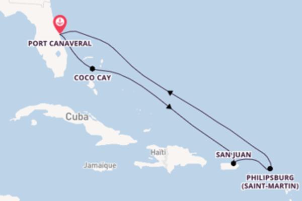 Noël aux Caraïbes sur l'Harmony of the Seas