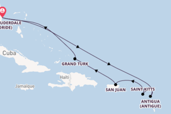 Étonnante croisière avec Princess Cruises pendant 9 jours