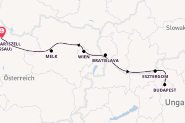 Entdecken Sie Bratislava ab Engelhartszell (Passau)