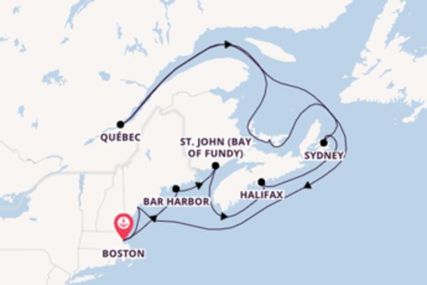 Entdecken Sie Halifax auf der Celebrity Summit