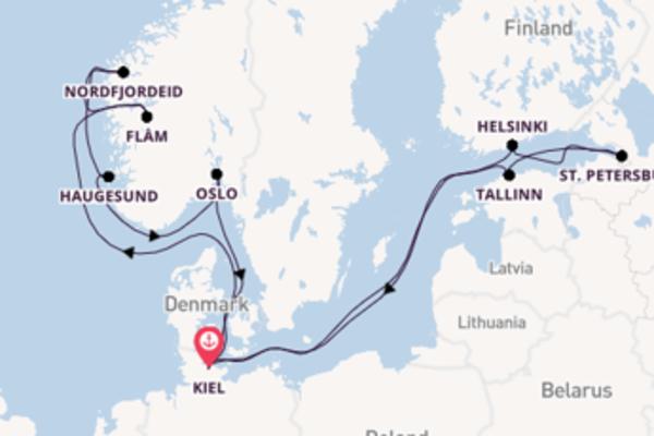15-daagse cruise naar Tallinn