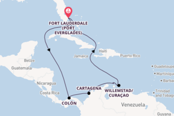 Cruising from Fort Lauderdale (Port Everglades) with the Vision of the Seas