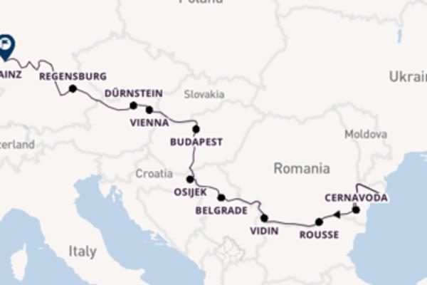 23 day voyage from Bucharest