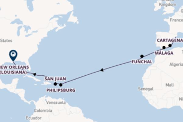 Viaggio da Barcellona verso Cartagena