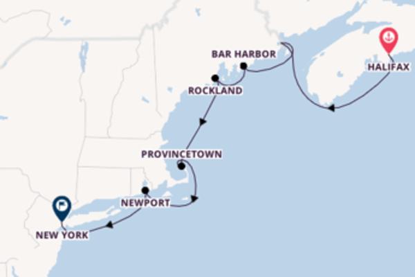 Cruise with Hurtigruten from Halifax to New York
