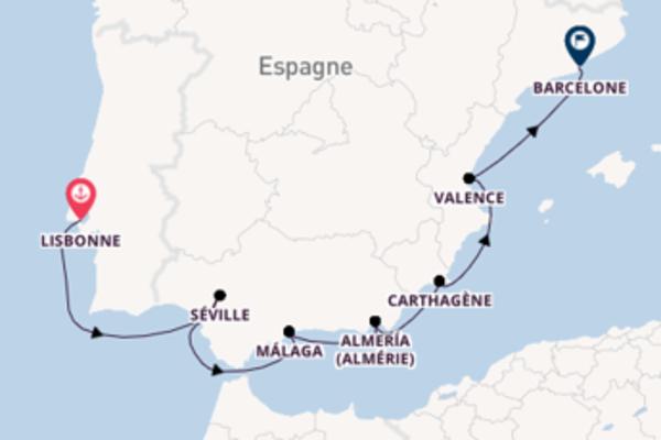 Envoutante balade de 11 jours à bord du bateau Azamara Journey