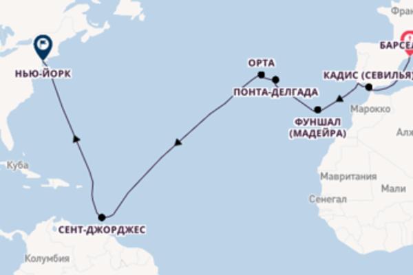 Обворожительный вояж на 17 дней с Regent Seven Seas Cruises