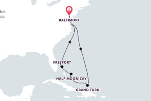 De Baltimore às Bahamas