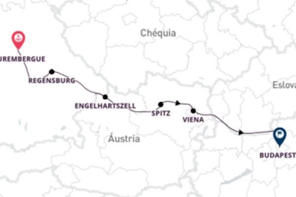 Amável Danúbio com saída de Nuremberg