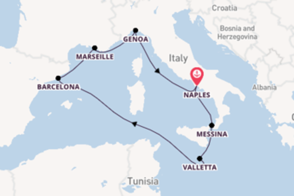 Wonderful voyage from Naples with MSC Cruises