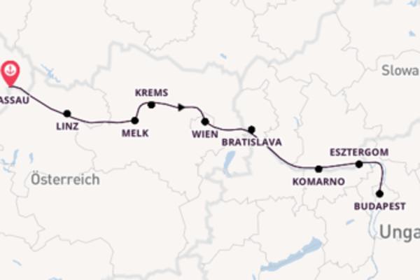 Begeisternde Reise nach Passau