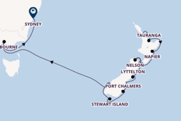22 Tage Neuseeland entdecken