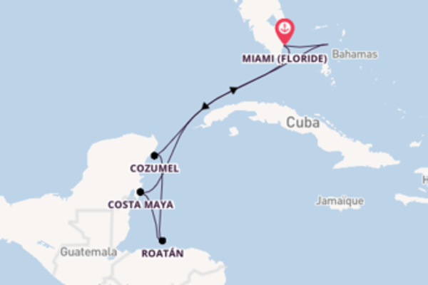 Ressentez avec Royal Caribbean, la destination: Cozumel