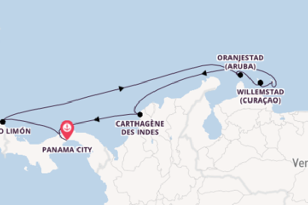 Croisière de 10 jours vers Colón avec Norwegian Cruise Line