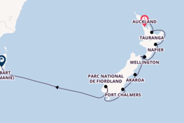 Visitez avec Holland America Line, la destination: Picton