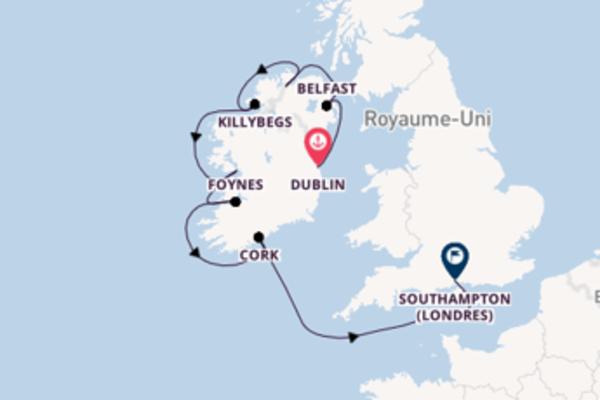 Croisière de 11 jours vers Southampton (Londres) avec Azamara Club Cruises