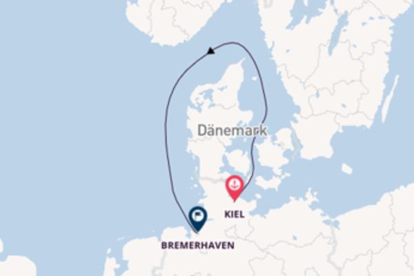 3-tägige Kreuzfahrt bis Kiel