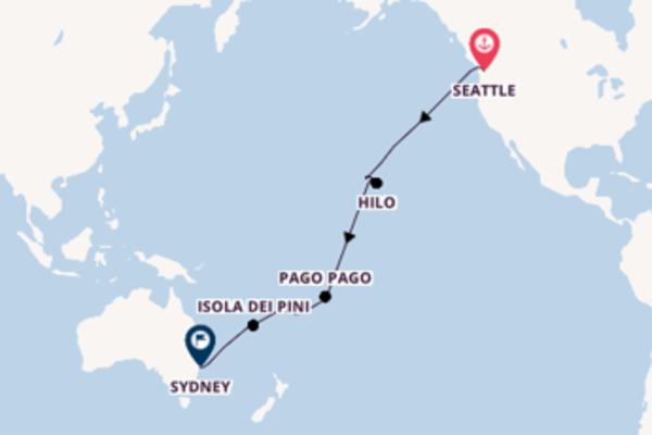 Scopri Suva e Sydney