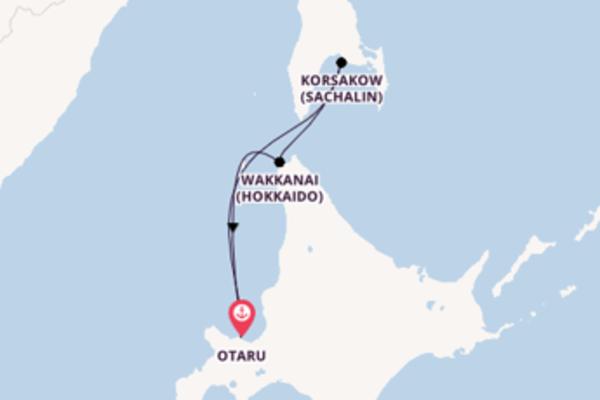 Erleben Sie Korsakow (Sachalin) auf der Costa Serena