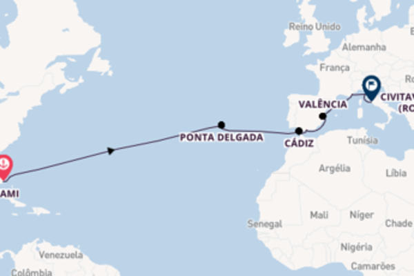 Navegando no Norwegian Pearl por 17 dias