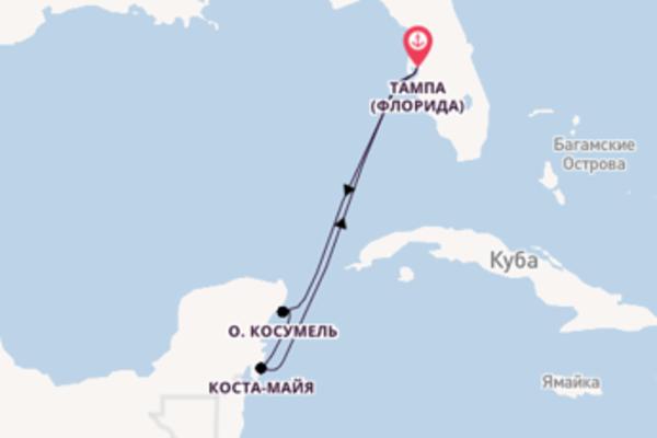 Чарующее путешествие на 6 дней с Royal Caribbean