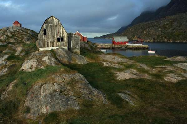 Prinz-Christian-Sund-Passage, Grönland