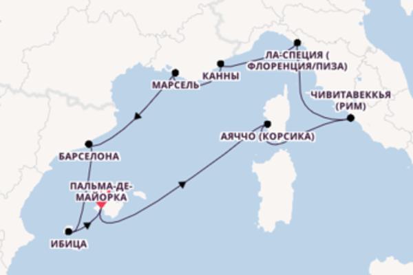 Чарующий круиз на 11 дней с TUI Cruises