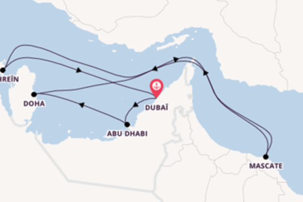 12 jours pour découvrir Dubaï