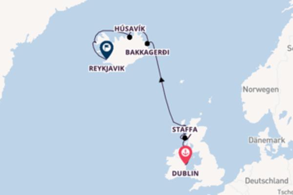 Schottland und Island Kreuzfahrt
