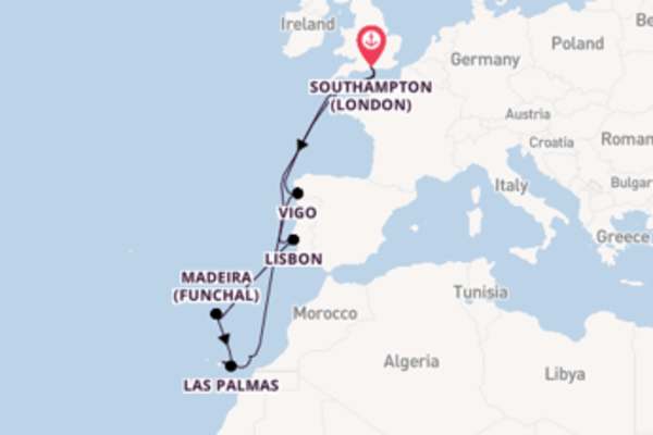Delightful expedition from Southampton (London) with MSC Cruises