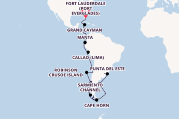 Expedition with Holland America Line  from Fort Lauderdale (Port Everglades)