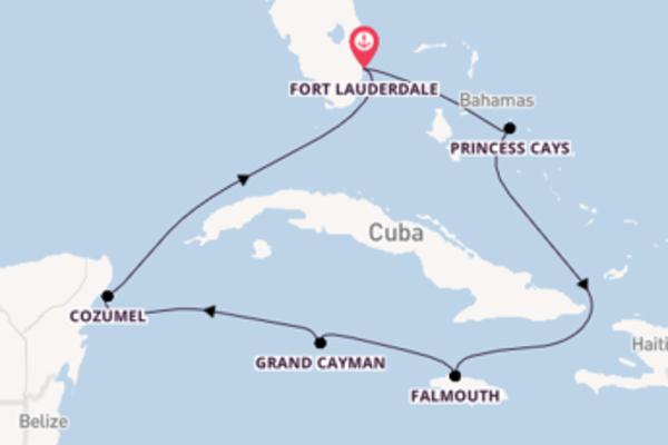 8-daagse cruise vanaf Fort Lauderdale